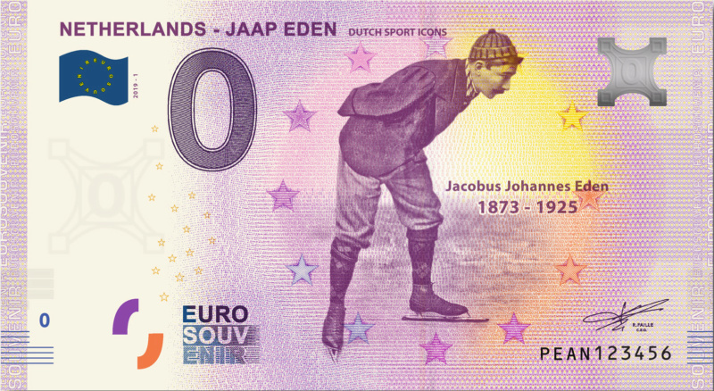 Billets euro souvenir (BES) Pean10