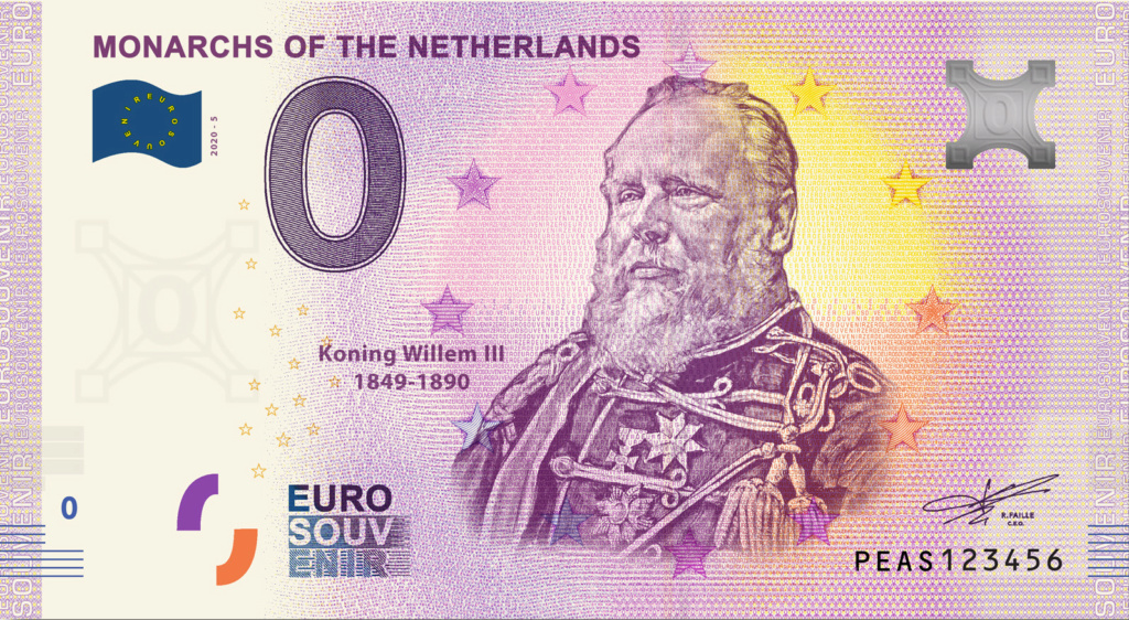Billets 0 euro 2020 Peas510