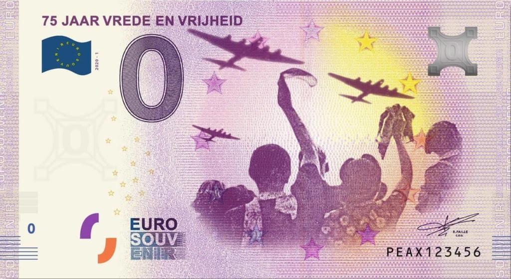 Billets 0 euro 2020 Peax10