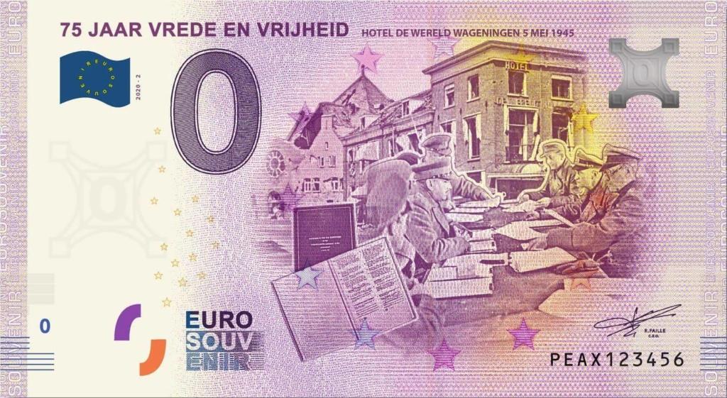 Billets 0 euro 2020 Peax210