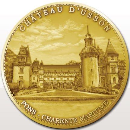 Pons (17800)  [Château d'Usson - Château des Enigmes] Pons10