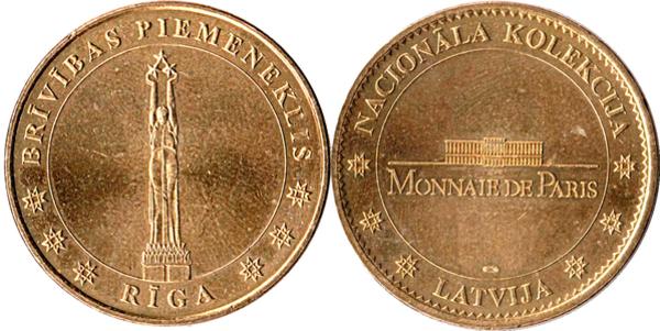 Monnaie de Paris Riga10