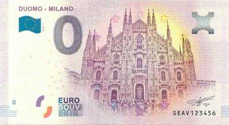 Billets Euro-Souvenirs 2018  Seav-210