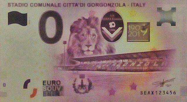 Billets Euro-Souvenirs 2019 Seax10