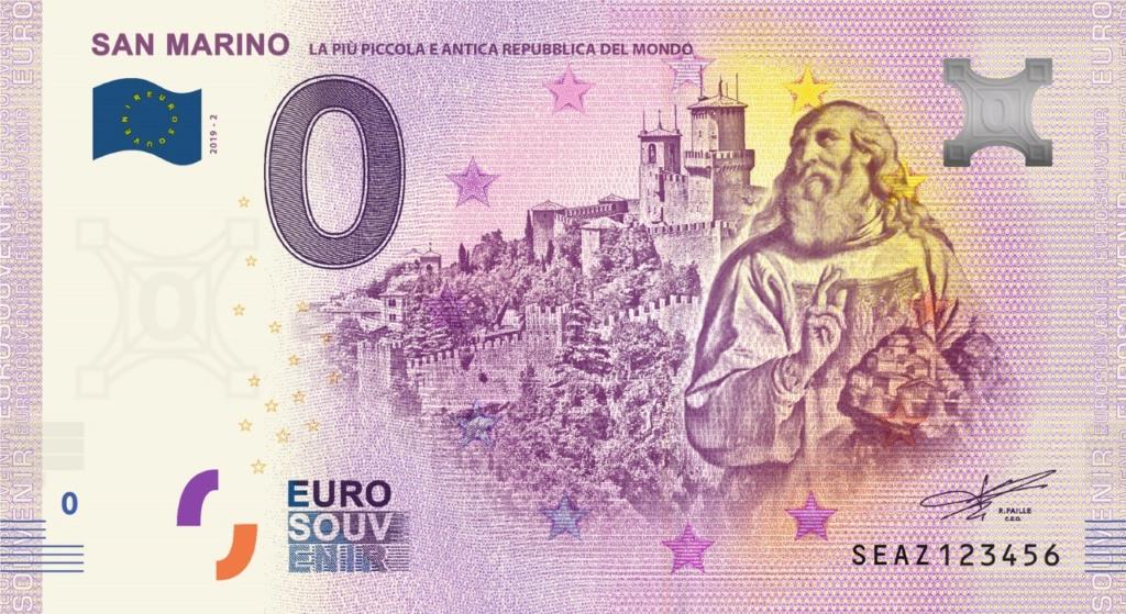 Billets Euro-Souvenirs 2019 Seaz2_10