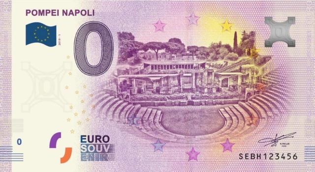 Billets Euro-Souvenirs 2019 Sebh10
