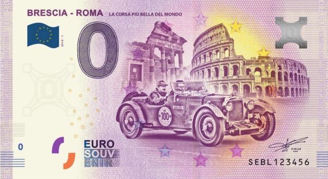 Billets Euro-Souvenirs 2019 Sebl10