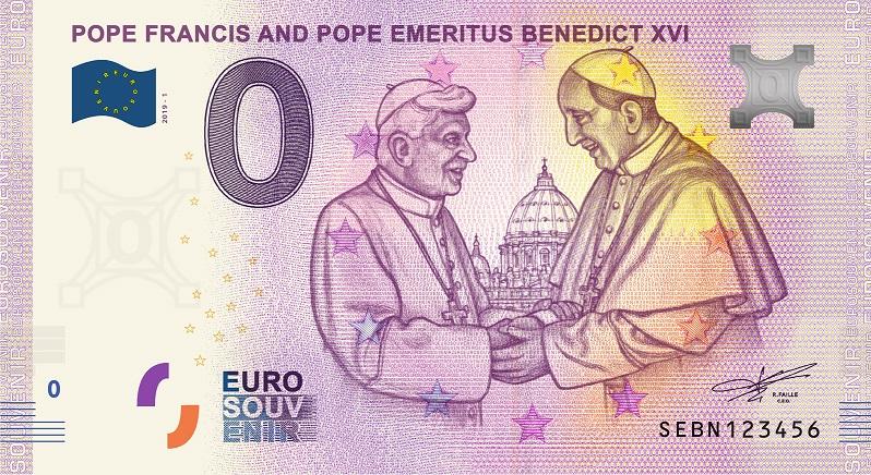 Billets Euro-Souvenirs 2019 Sebn10