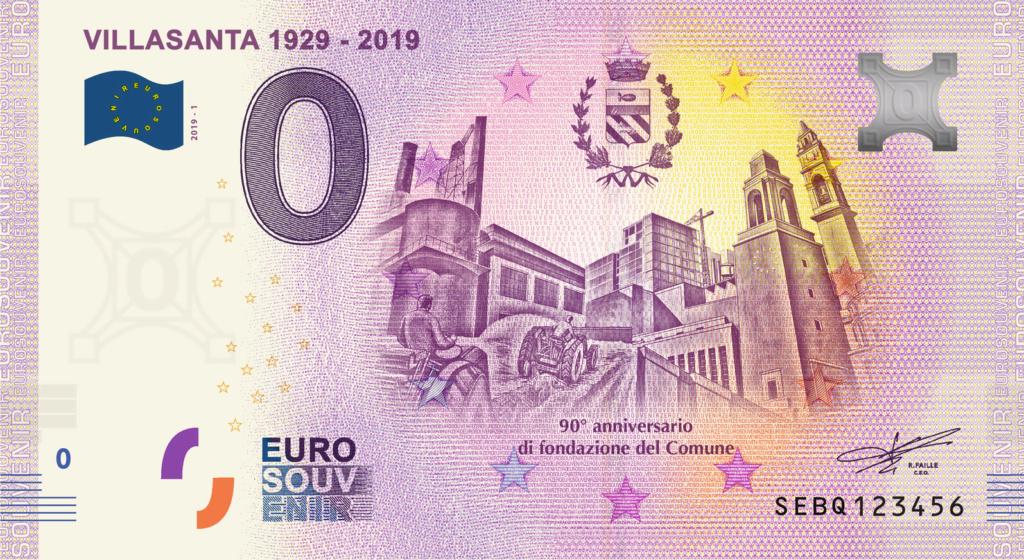 Billets Euro-Souvenirs 2019 Sebq1_10