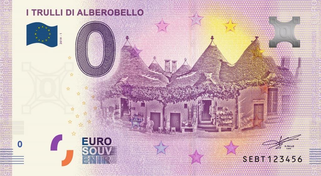 Billets Euro-Souvenirs 2019 Sebt1_10