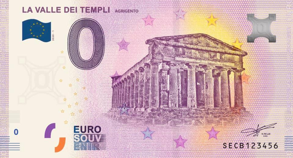 Billets Euro Souvenir 2020 Secb10