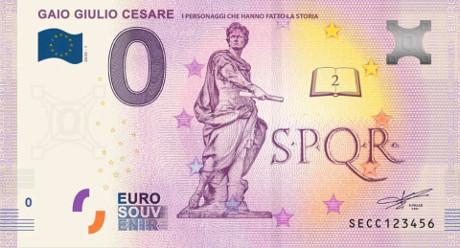 Billets Euro Souvenir 2020 Secc10