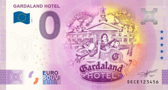 Billets Euro Souvenir 2020 Sece10