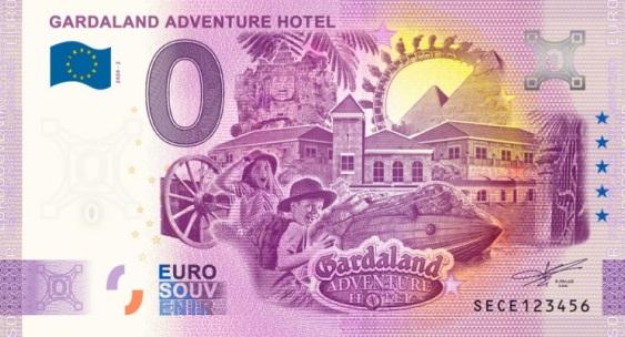 Billets Euro Souvenir 2020 Sece210