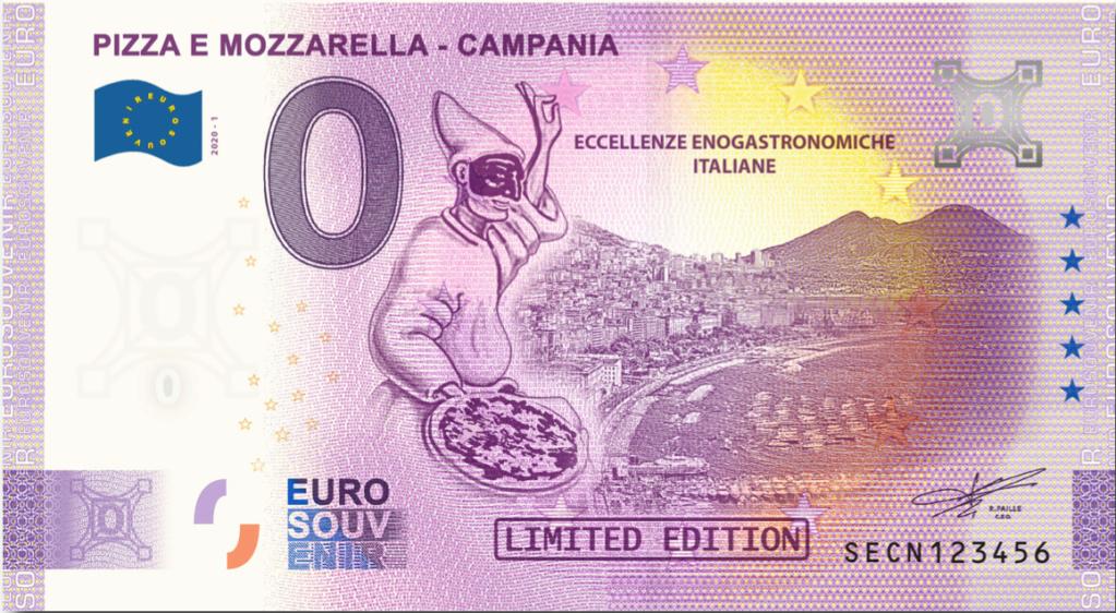 Billets Euro Souvenir 2020 Secn10