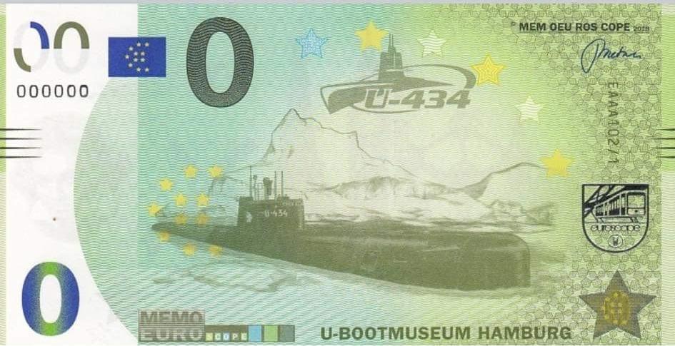 Billets Memo Euro scope U43411