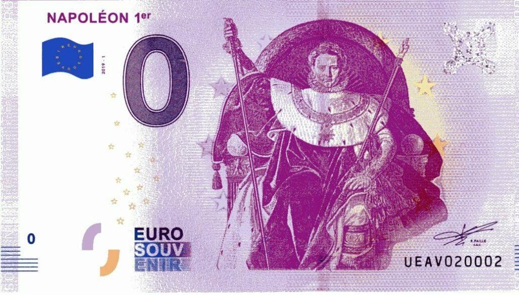 Billets 0 € Souvenirs  [Paris = 81] Ueav1-10