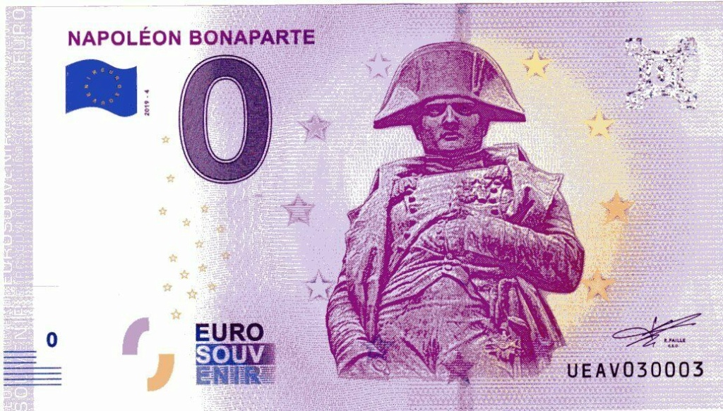 Billets 0 € Souvenirs  [Paris = 81] Ueav4-10