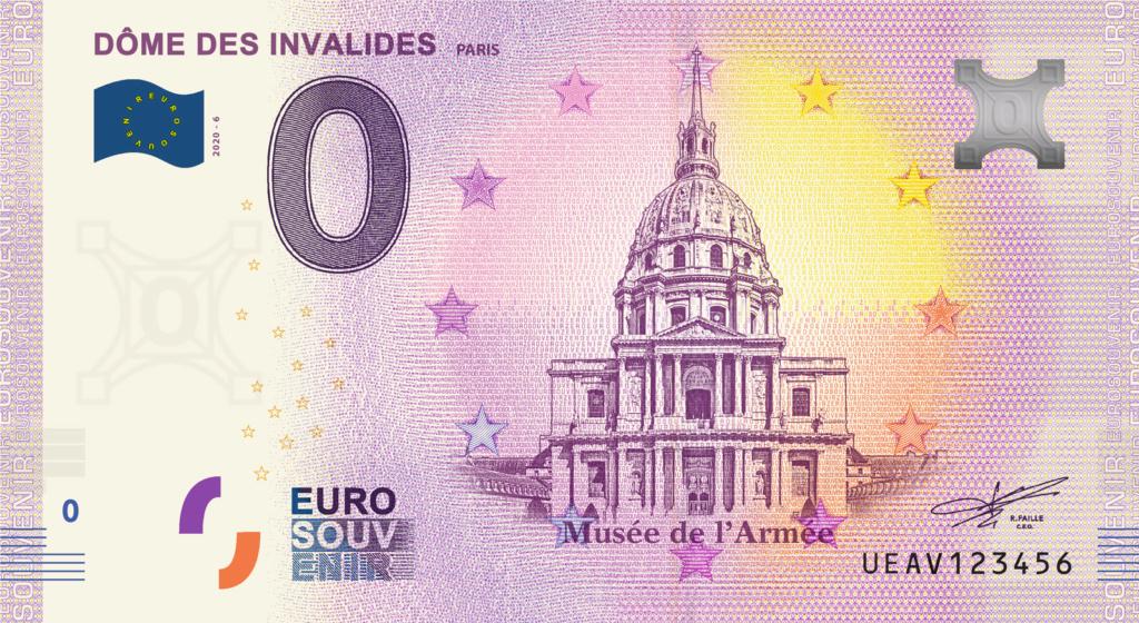 Billets 0 € Souvenirs  [Paris = 81] Ueav6_10
