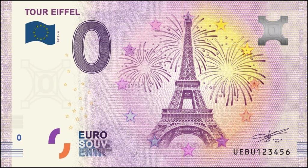 Billets 0 € Souvenirs  [Paris = 81] Uebu610
