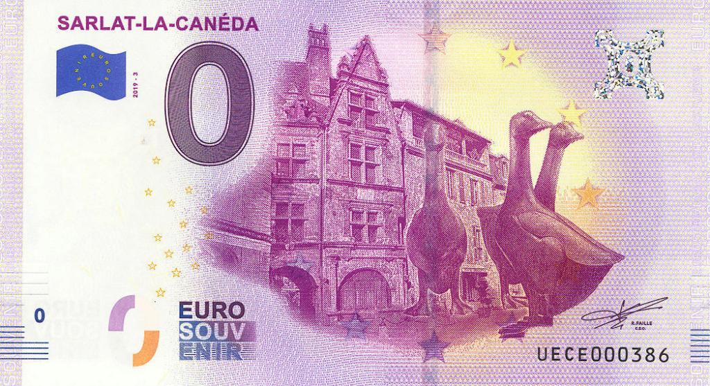 Billets 0 € Souvenirs  [Nouvelle Aquitaine = 73] Uece2010