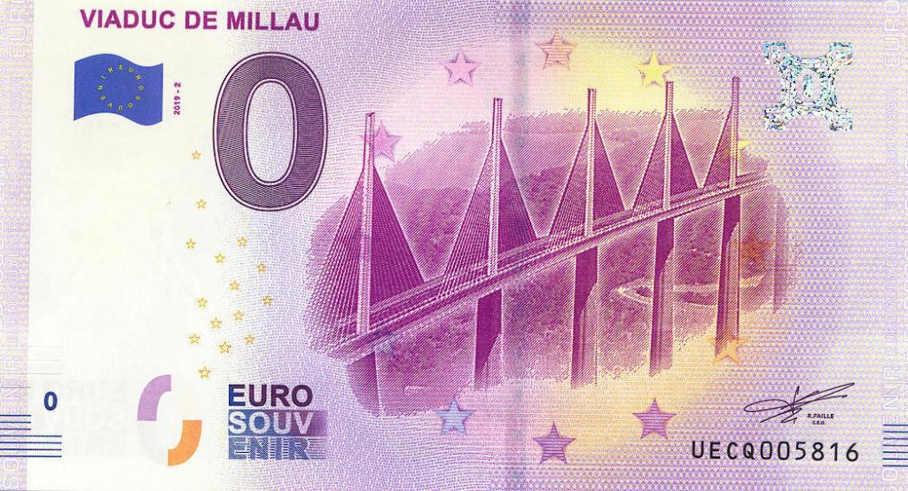 Billets 0 € Souvenirs = 80 Uecq2010