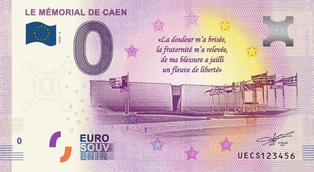 Billets 0 € Souvenirs = 65 Uecs510
