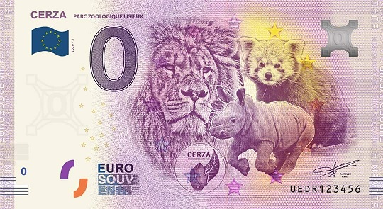Billets 0 € Souvenirs = 65 Uedr510