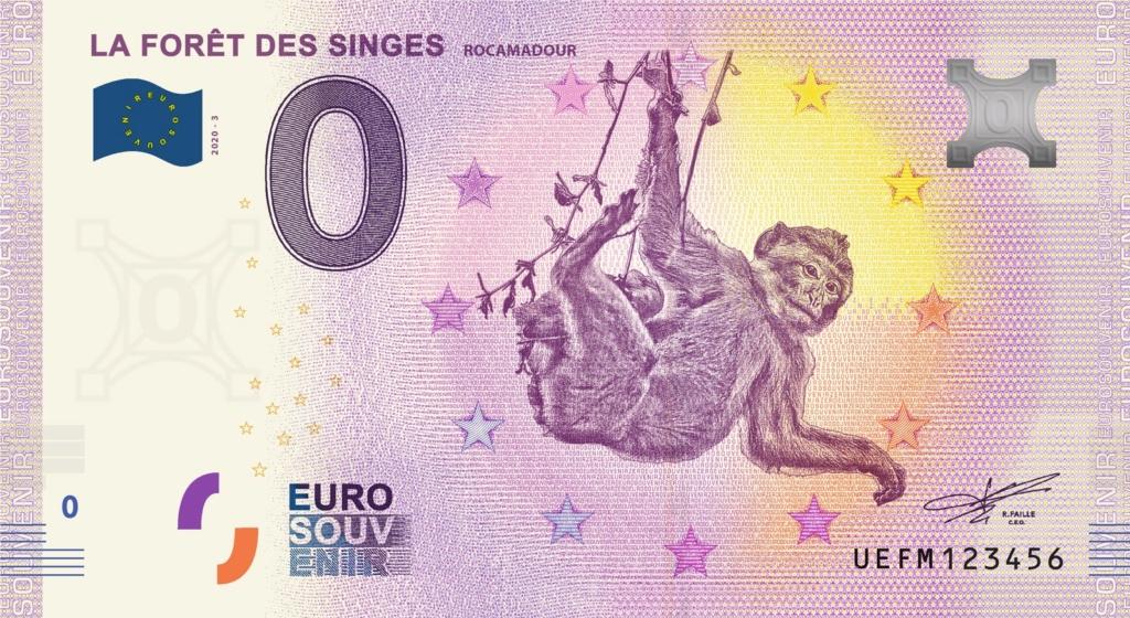 Billets 0 € Souvenirs = 80 Uefm310