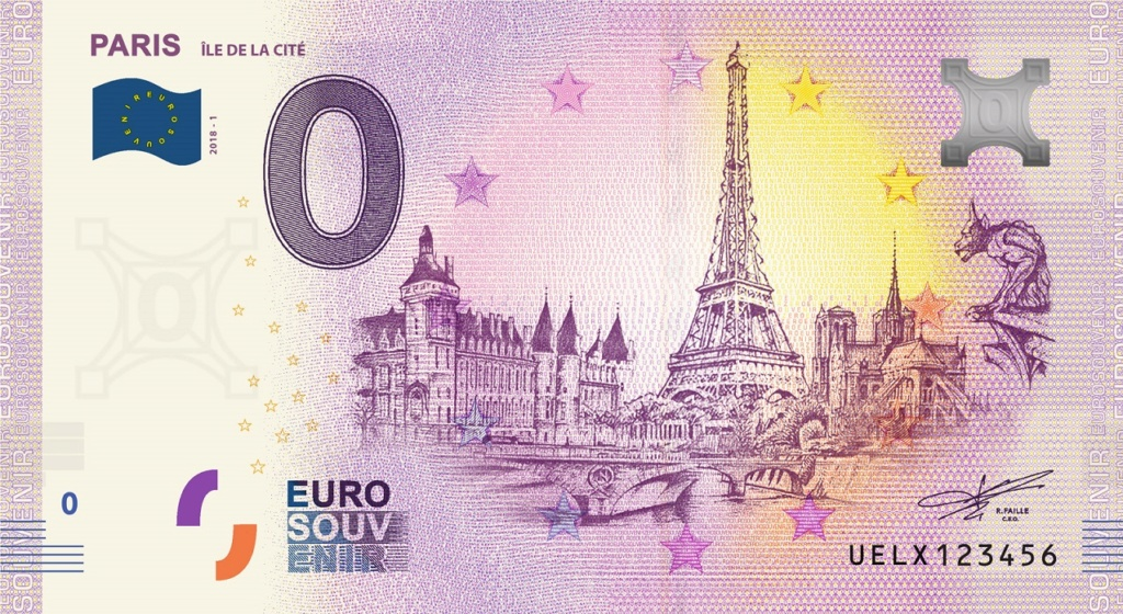 Billets 0 € Souvenirs  [Paris = 81] Uelx1_10