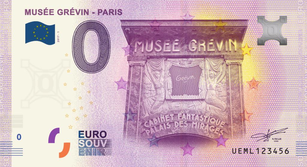 Billets 0 € Souvenirs  [Paris = 81] Ueml1_10