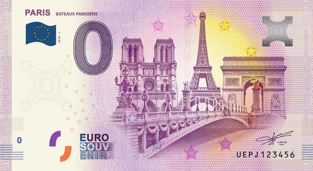 Billets 0 € Souvenirs  [Paris = 81] Uepj1_10