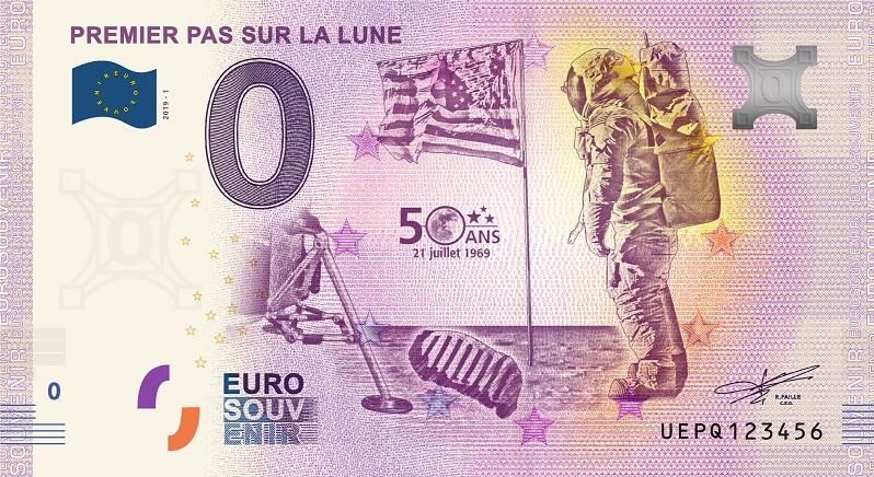 Billets 0 € Souvenirs  [Paris = 81] Uepq1_10