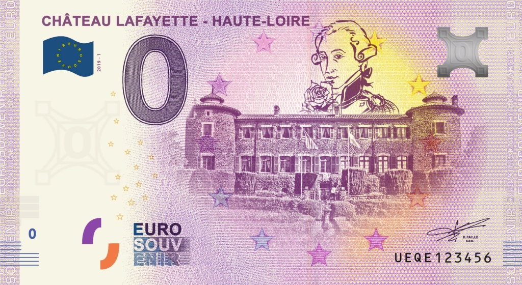 Billets 0 € Souvenirs  = 40  Ueqe10