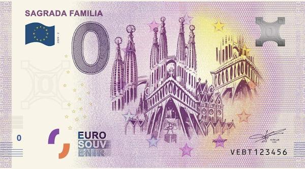 Billets touristiques 0 euro 2020 Vebt10
