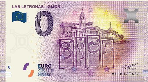 Billets touristiques 0 euro 2020 Vedm10