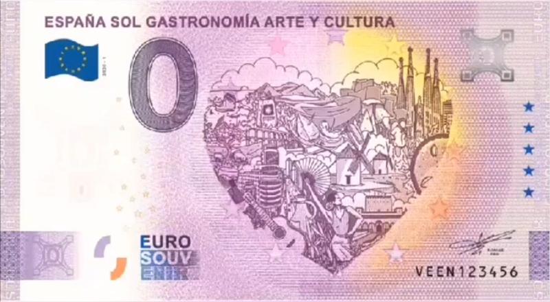 Billets touristiques 0 euro 2020 Veen10
