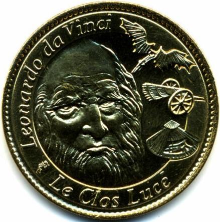 Arthus-Bertrand revers spécifique =  10 Vinci10