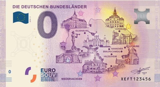 Billets souvenirs 2019 Xeft10