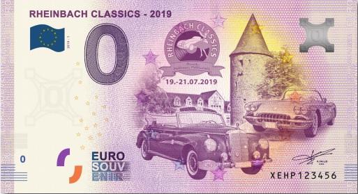 Billets souvenirs 2019 Xehp10