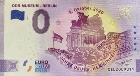 Billets souvenirs 2020 Xelz10