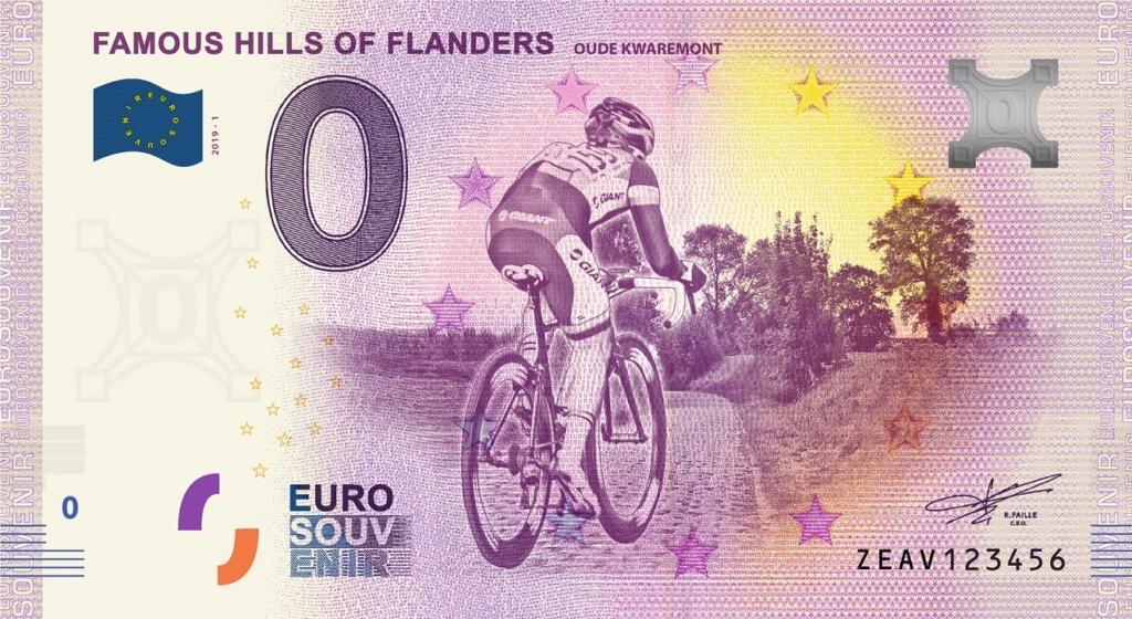 Billets euro souvenirs 2019 Zeav1_11
