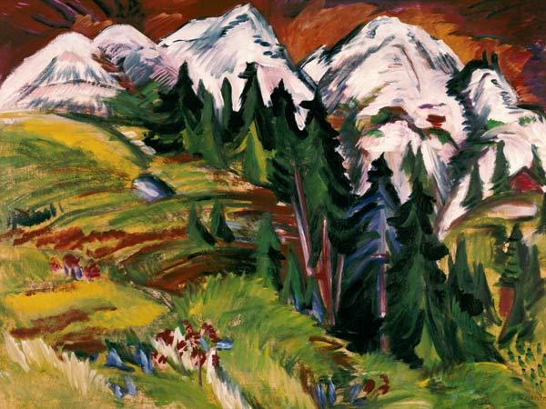 Ernst Ludwig Kirchner [Peintre] Kirchn14