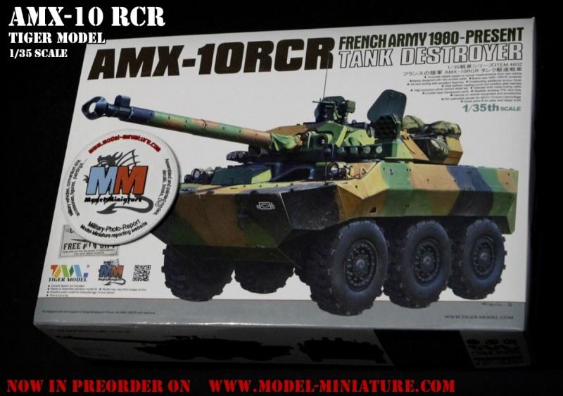 AMX-10 RCR, VBL, Tiger Model, roues, Rations-K, 1/35 Amx-1010