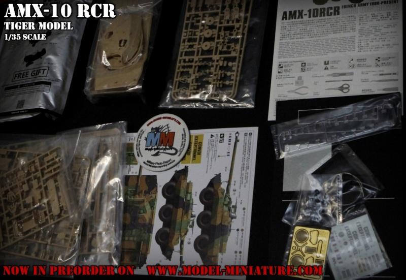 AMX-10 RCR, VBL, Tiger Model, roues, Rations-K, 1/35 Amx-1011