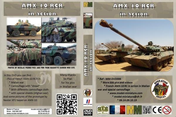 AMX-10 RCR, VBL, Tiger Model, roues, Rations-K, 1/35 Dvd_am10