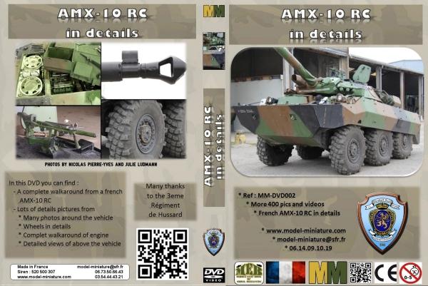 AMX-10 RCR, VBL, Tiger Model, roues, Rations-K, 1/35 Dvd_am11