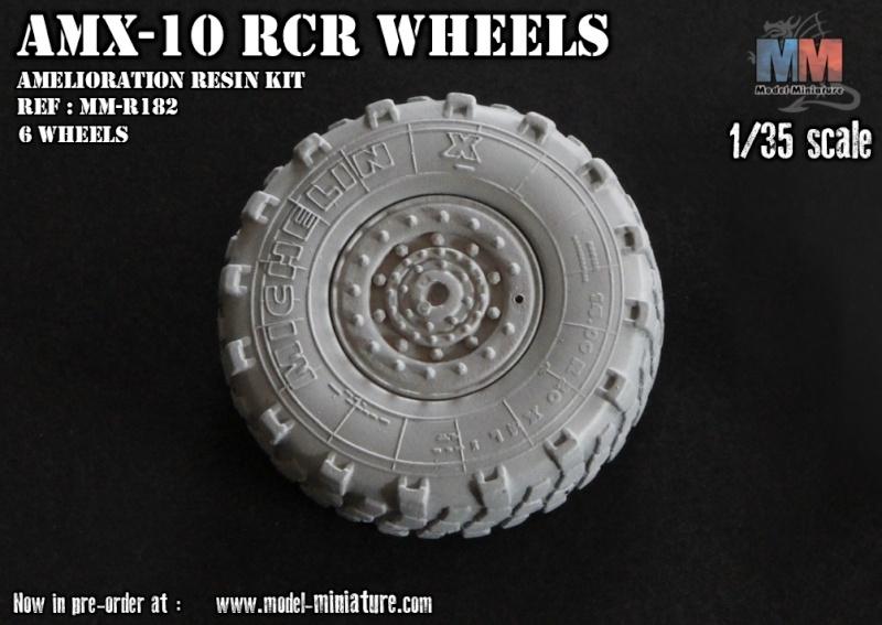 AMX-10 RCR, VBL, Tiger Model, roues, Rations-K, 1/35 Roue_a10