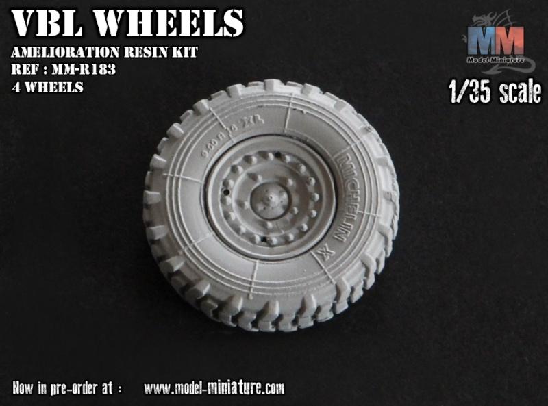 AMX-10 RCR, VBL, Tiger Model, roues, Rations-K, 1/35 Roues_10