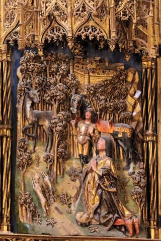 El Christo de Burgos y San Huberto de Lieja Arbre-10